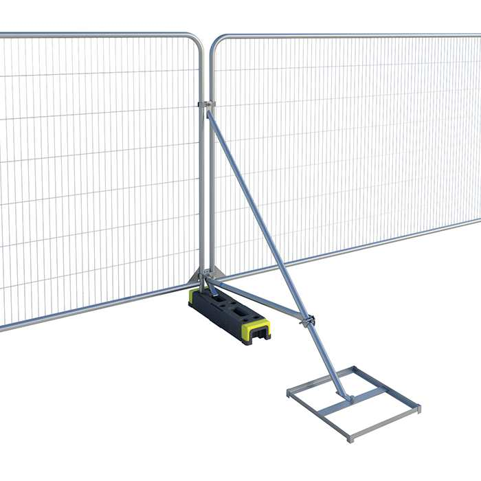 Fence Stabiliser with Cross Brace