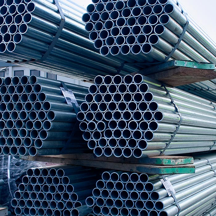 4mm Galvanised Scaffold Tube