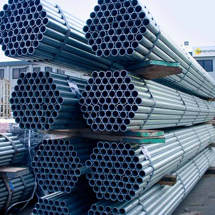 3.2mm High Yield Galvanised Tube