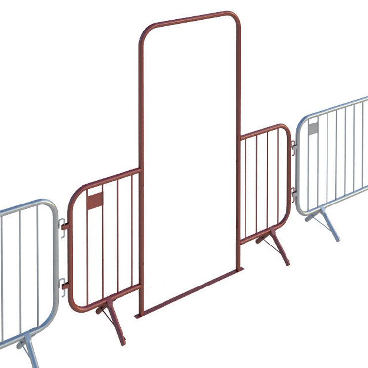 2.5m Fixed Leg Walk Through Barrier