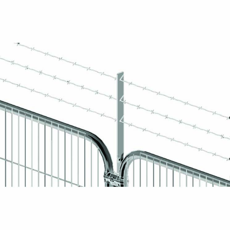 Barbed Wire Bracket – Round Top