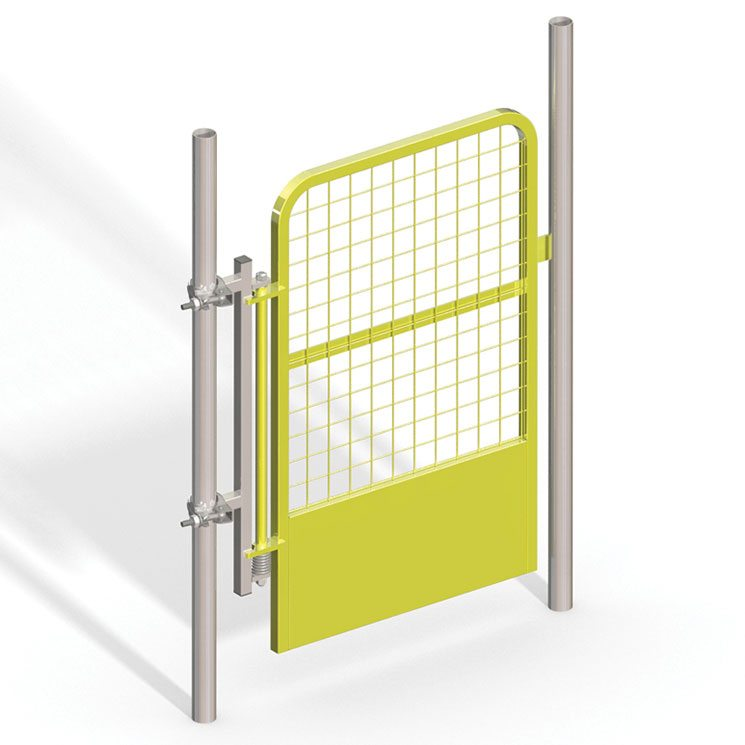 Reversible Handrail Safety Gate