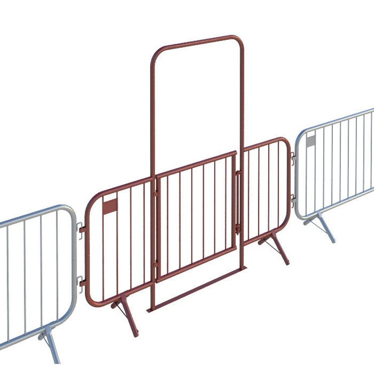 2.5m Fixed Leg Walk Through Barrier with Gate