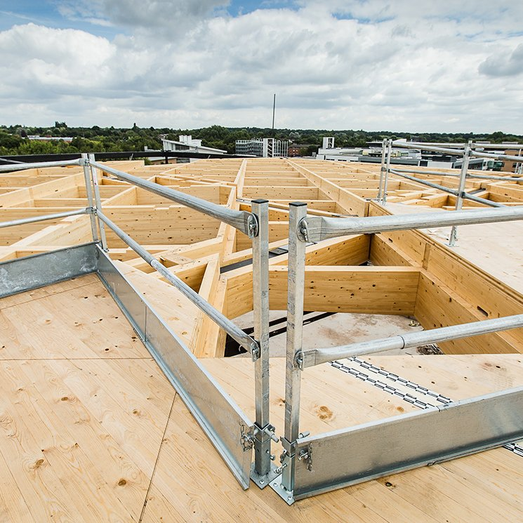 Edge Protection Timber Frames