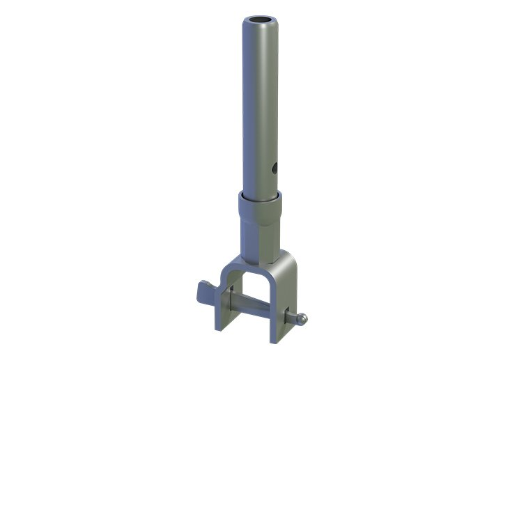 Generation Scaffolding Support Spigot with Wedge