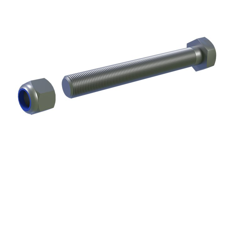 M12 x 90mm Bolt Nut